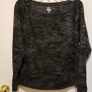 Nike sweatshirt distressed style sz L